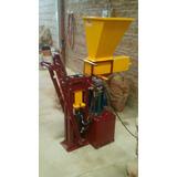 Maquina Prensa Hidraulica Para Fabricar Ladrillos Ecologico
