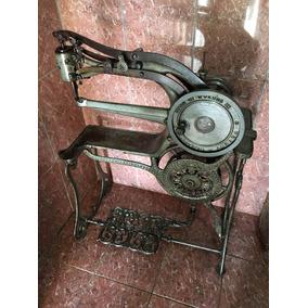 Máquina Costura Couro E Conserto De Sapato Patente Antiga