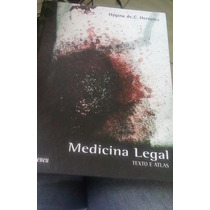 Medicina Legal Textos E Atlas Livro Novo