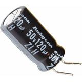 Capacitor Eletrolítico 120uf 50v - 10pçs