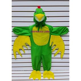 Disfraz De Perico Disfraces Primavera Aves Pajaros Niños