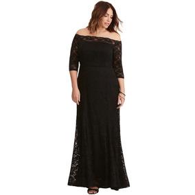 Vestido Color Negro Blanco Tallas Grandes Gorditas. S  205 1970f00650da