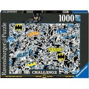 16513 Challenge Batman Rompecabezas 1000 Piezas Ravensburger