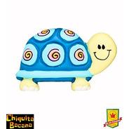 Puxador Infantil Móveis E Armários - Tartaruga Azul