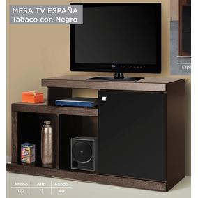 mesa tv pantalla madera moderno minimalista