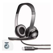 Auricular Usb Headset Logitech H390 Microfono Electroshows