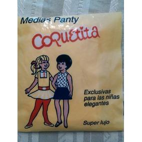 Medias Panty Nylon Color Hueso Niñas 1-3 Años