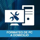 Formateo Pc Notebook Laptop Netbook Ultrabook Windows