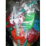 Gcg Lote 25 Espadas Y 25 Escudos Plastico Niños Envio Gratis