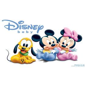 Painel De Festa Baby Disney Tecido Cenário Banner 1 X 0,70