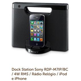 Dock Station Sony - Caixa De Som Para Celular