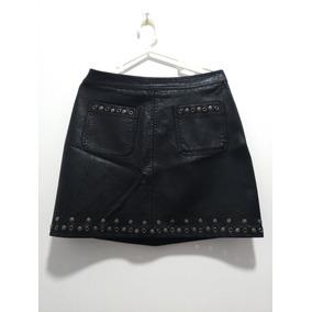 762192ed41 Falda De Cuero Gamuza Negra - Faldas Mujer en Mercado Libre Perú