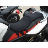 Almofada Moto Bmw Assento Piloto Motorista Gel Capa Banco