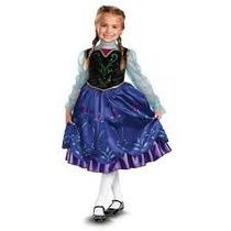 Disfraz Vestido Princesa Ana Frozen Disney Entrega Inmediata