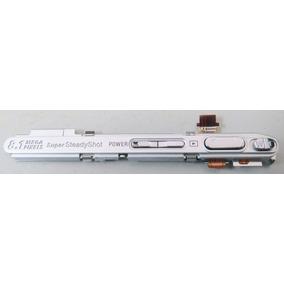 Moldura Superior Com Botão De Zoom E Disparador Sony T200
