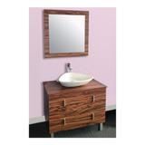 Gabinete Baño Lavabo Minimalista Espejo Gb 2074 26 Gravita