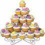 Base Exibidor O Porta Cupcake Ponque Wilton