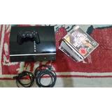 Playstation 3 Fat 60gb De Los Grandes + 13 Juegos Originales