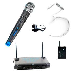 Microfone S Fio Mão, Headset E Lapela Uhf Ms215 Cli Tsi 12x