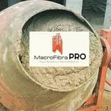 Macro Fibra Pro Solucion En Concreto Sustituto De La Malla.