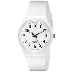 Reloj Unisex Swatch Just Blanco