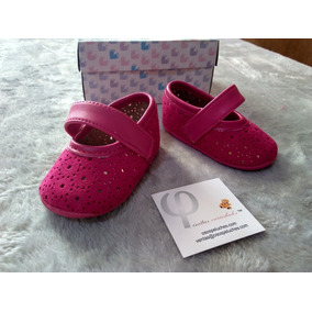 Zapatos Para Bebe Rosas Niña