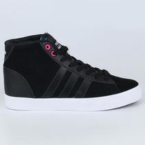 Zapatillas Adidas Cloudfoam Daily Qt Botines Negros Ndpm