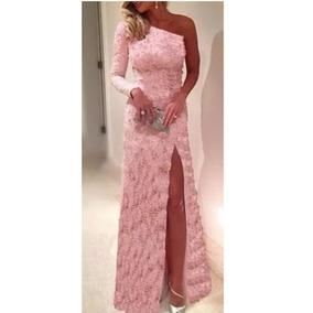 ab7631ee3 Vestido Longo Um Ombro Sã³ - Vestidos De Festa Longos Femininas no ...