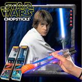 Palitos Star Wars De Sushi Luke Skywalker Con Luz Led Light