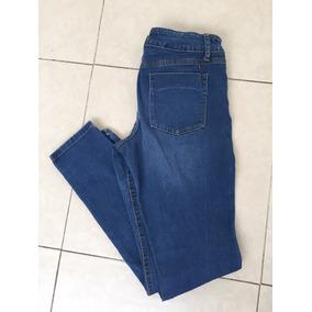 Jeans Mossimo Mezclilla Legging Denim Azul Claro 8 Tubo
