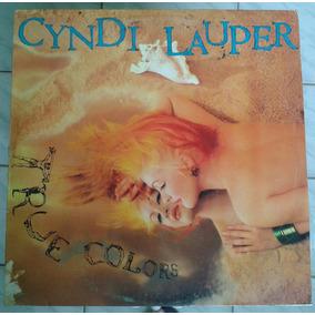 Disco De Vinil Raro Cyndi Lauper - True Colors - Raro