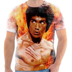 Camiseta Camisa Personalizada Bruce Lee Luta 2