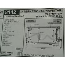 Radiador De International/navistar/7300/7400/7600/03-06