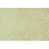 Tecido Carapinha Lã De Ovelha Cor Marfim Pele Sintética