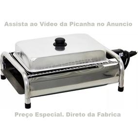 Churrasqueira Elétrica Bafo 110v Ou 220v Veja Vídeo Picanha