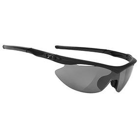 ca4e3926f8 Gafas Tifosi Slip Wrap Sunglasses Plata Race On Frame Negro