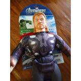 Muñeco Soft Avengers 2 Thor De Tela Marvel Original