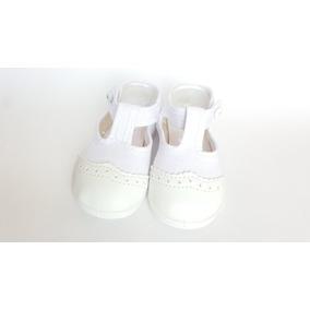 Zapato Guillermina Bautismo/comunión/fiesta - Nena Blanco
