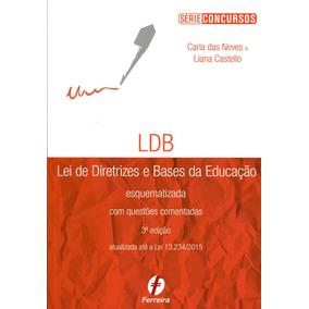 Ldb - Lei De Diretrizes E Bases Da Educação Esquematizada