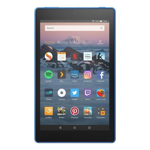 "Tablet Amazon Fire HD 8 KFKAWI 8"" 16GB marine blue con memoria RAM 1.5GB"