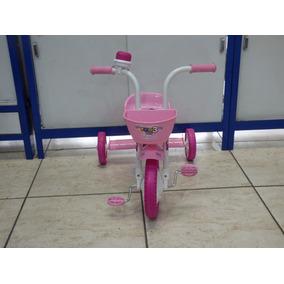 Triciclo Aro 12 You Girl Menina 3 Rodas Infantil