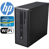 Torre Hp Elitedesk 800 G1, I Hasta 3,9 Ghz, 1 Tb De Ram Ssd