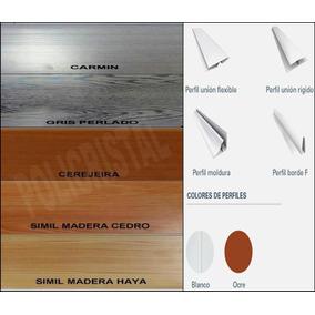 Machimbre Pvc En Color 20cmx10 Mm Precio X Metro Lineal!!!