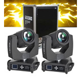 2 Cabezas Moviles Super Beam Sharpy 7r Sky Light - 203 W