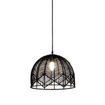 Lámpara De Techo Morph Diseño Decca Fierro Negro