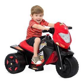 Moto Elétrica Infantil Criança Menino Bandeirante Nova