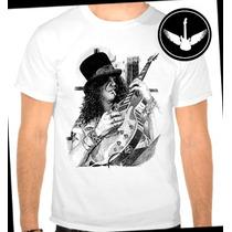 Camiseta Slash Guns N Roses Ou Baby Look Regata Banda Rock