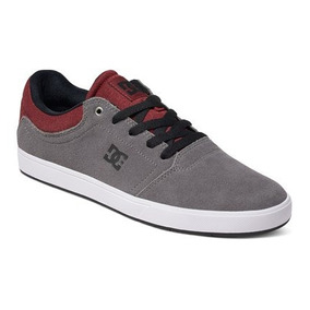 Zapato Tenis Hombre Caballero Crisis Xssr Gris Dc Shoes