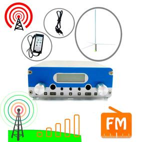Transmisor Señal De Radio Fm 15w Antena Incluida