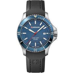 Reloj Wenger Seaforce 010641119 Manos Luminosas Time Square